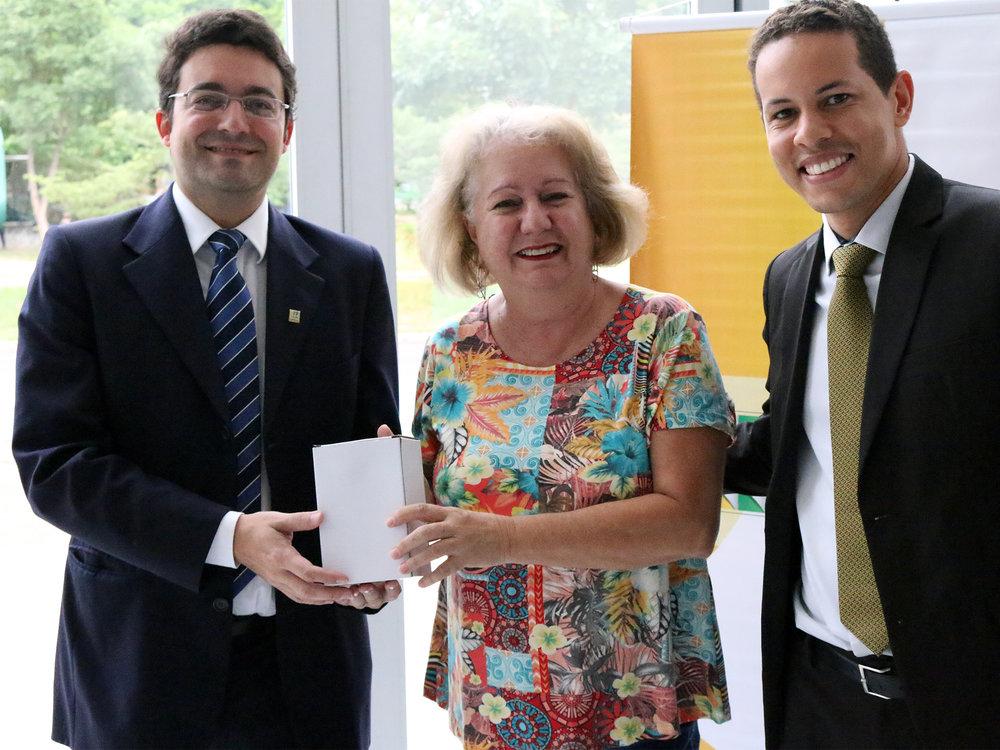 Presidente da ANESP participou da entrega dos brindes sorteados