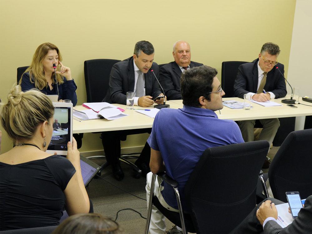 Coletiva de imprensa via Facebook debateu Reforma da Previdência. Fotos: Filipe Calmon / ANESP