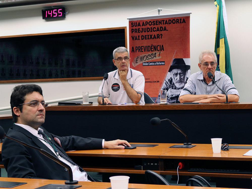 Reunião na CLP debate Reforma da Previdência. Fotos: Filipe Calmon / ANESP