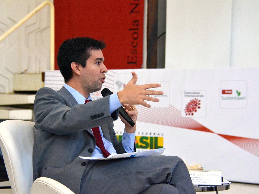 Marcelo Correia é EPPGG da 13ª Turma.Foto: Enap