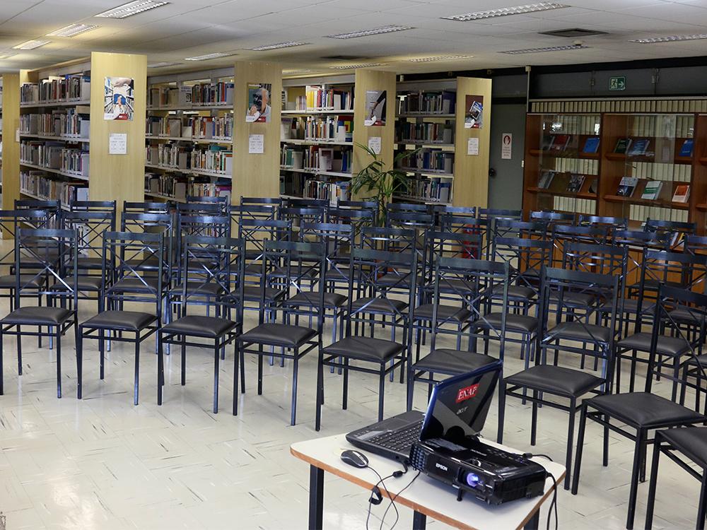 Biblioteca Graciliano Ramos. Foto: Filipe Calmon / ANESP