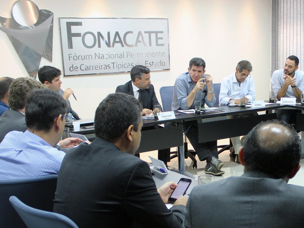 Toninho Queiroz participou da reunião do Fonacate.