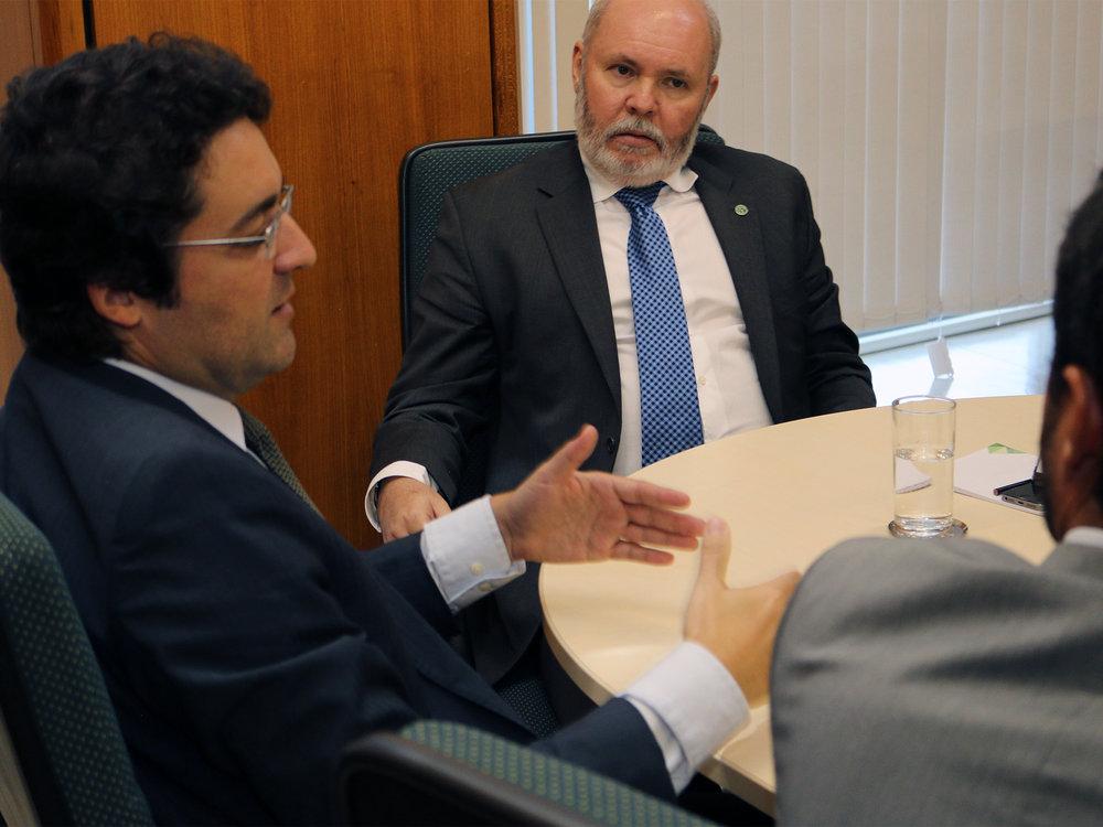 Diálogo entre o Presidente da ANESP e o Secretário-Executivo Adjunto do Mapa