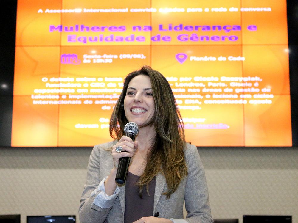 Mariana Boabaid, EPPGG Associada a ANESP, foi uma das organizadoras do evento. Foto: Filipe Calmon / ANESP