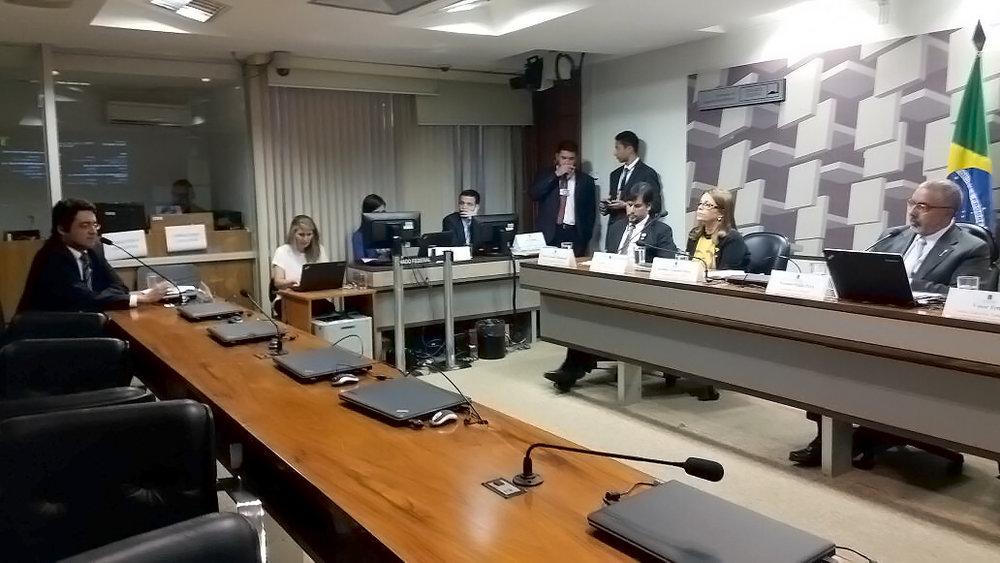 Presidente da ANESP representou também a Pública Central do Servidor durante a audiência pública. Foto: ANESP