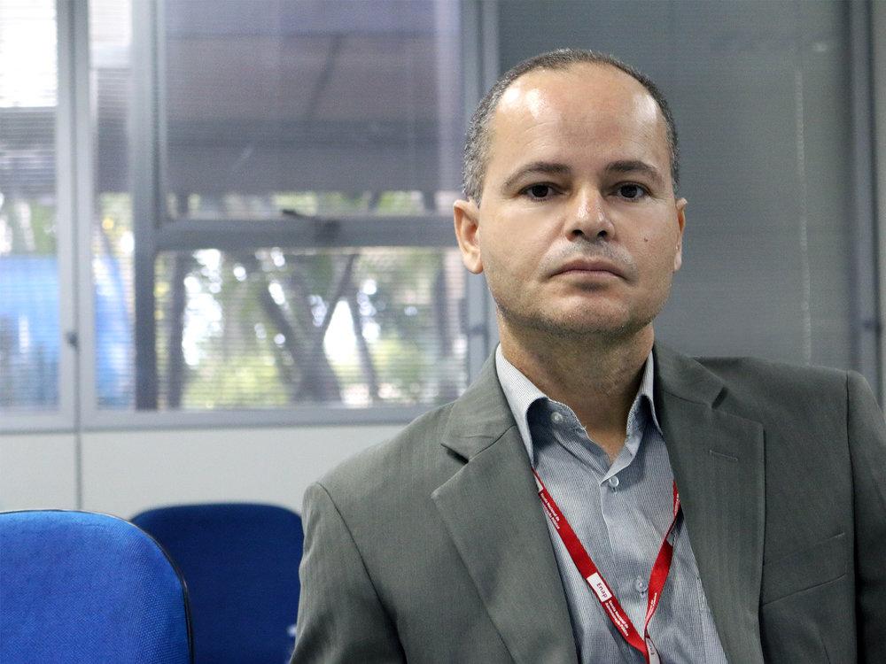 O EPPGG Willber Severo, um dos organizadores do livro.