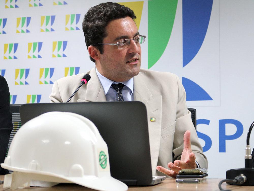 Presidente da ANESP, Alex Canuto.