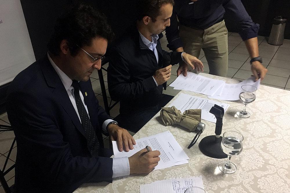 Alex Canuto, reeleito Presidente da ANESP