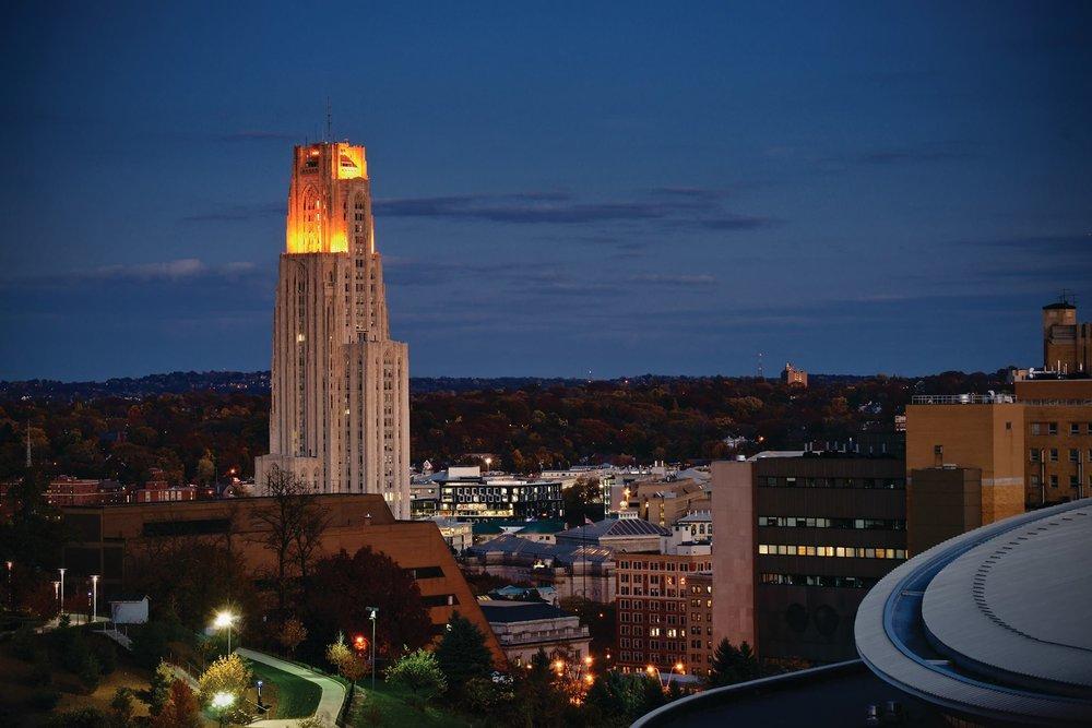 Universidade de Pittsburgh receberá o evento. Foto: PITT