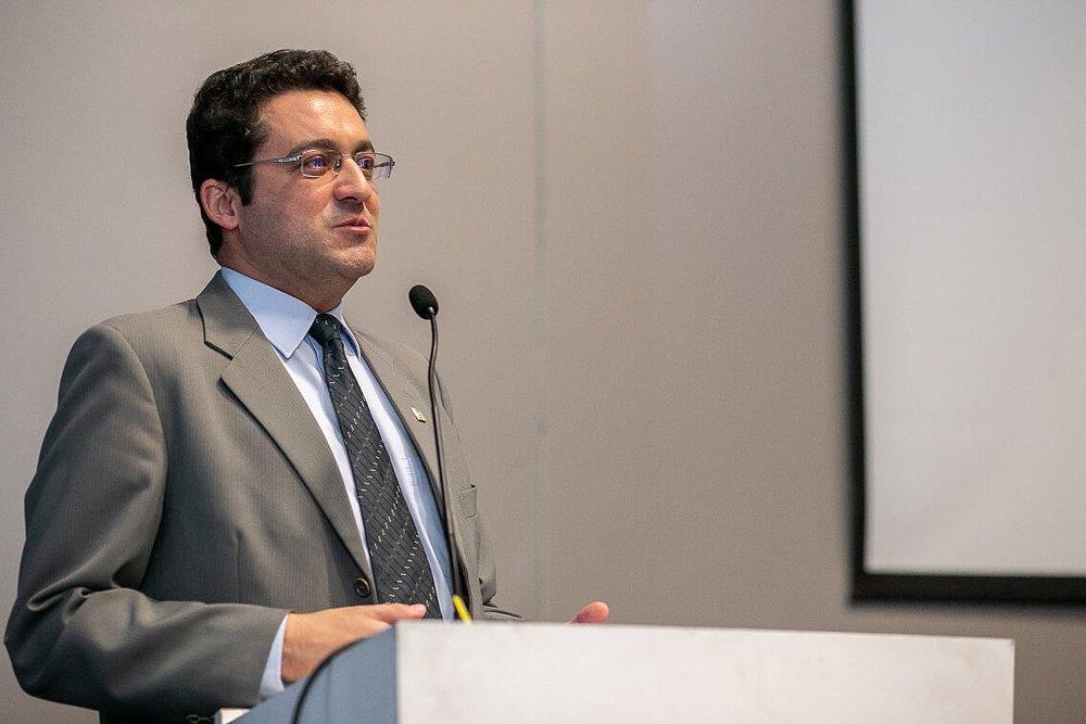 Presidente Alex Canuto.