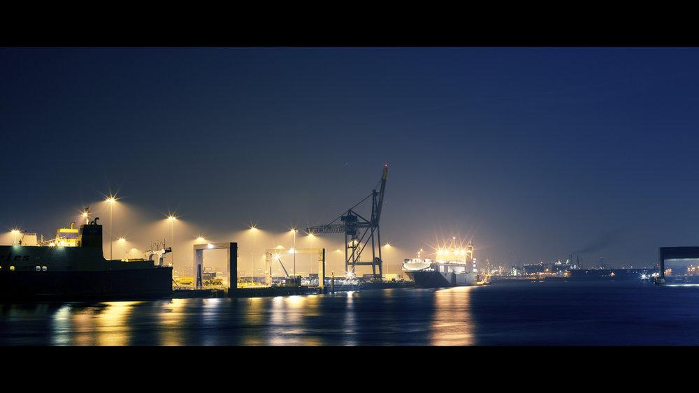 Porto de Rotterdan. Foto: Bart