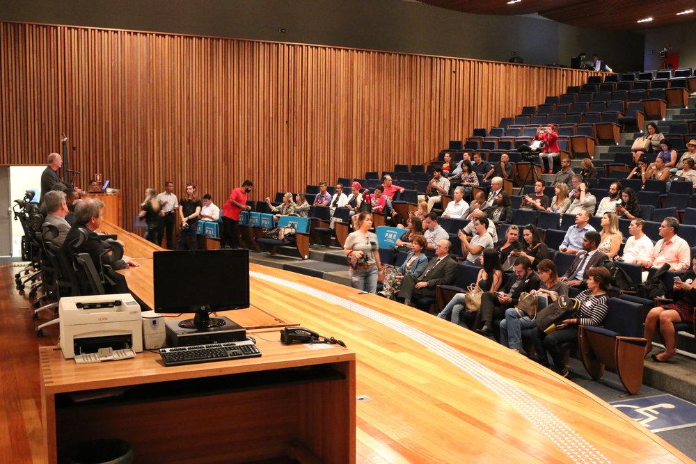Evento foi realizado no auditório da CLDF. Foto: Filipe Calmon / ANESP