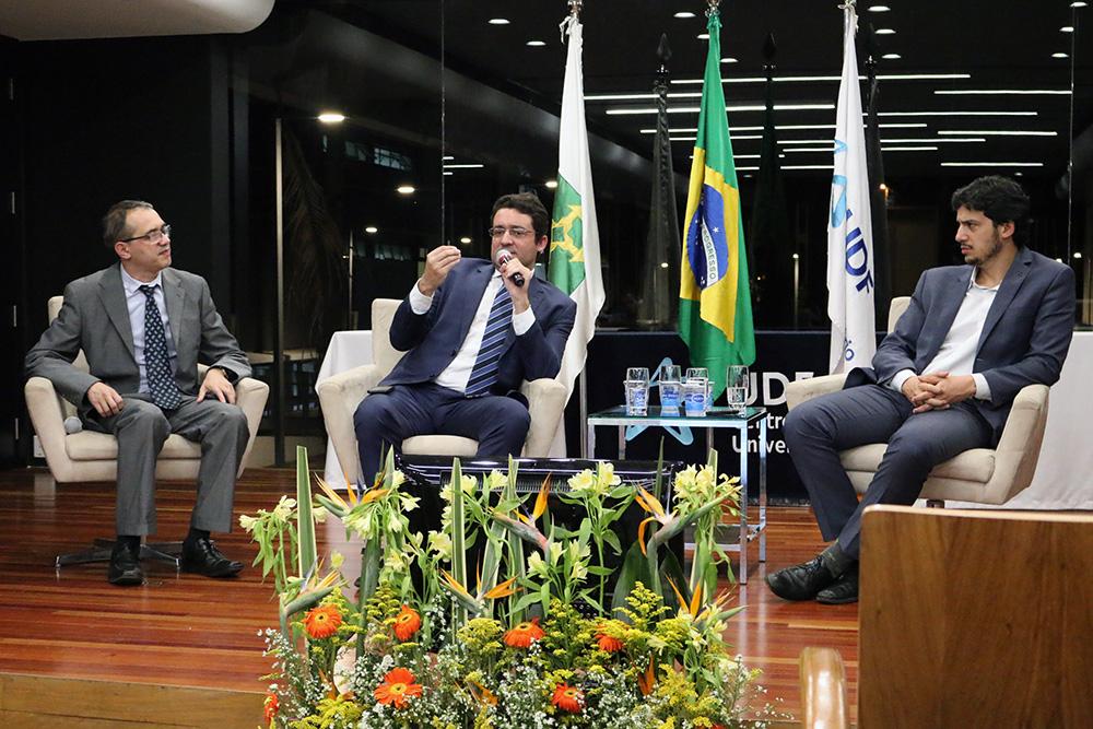 EPPGGs, Elder Linton, Alex Canuto, Presidente da ANESP, e Joelson Velloso. Foto: Filipe Calmon / ANESP