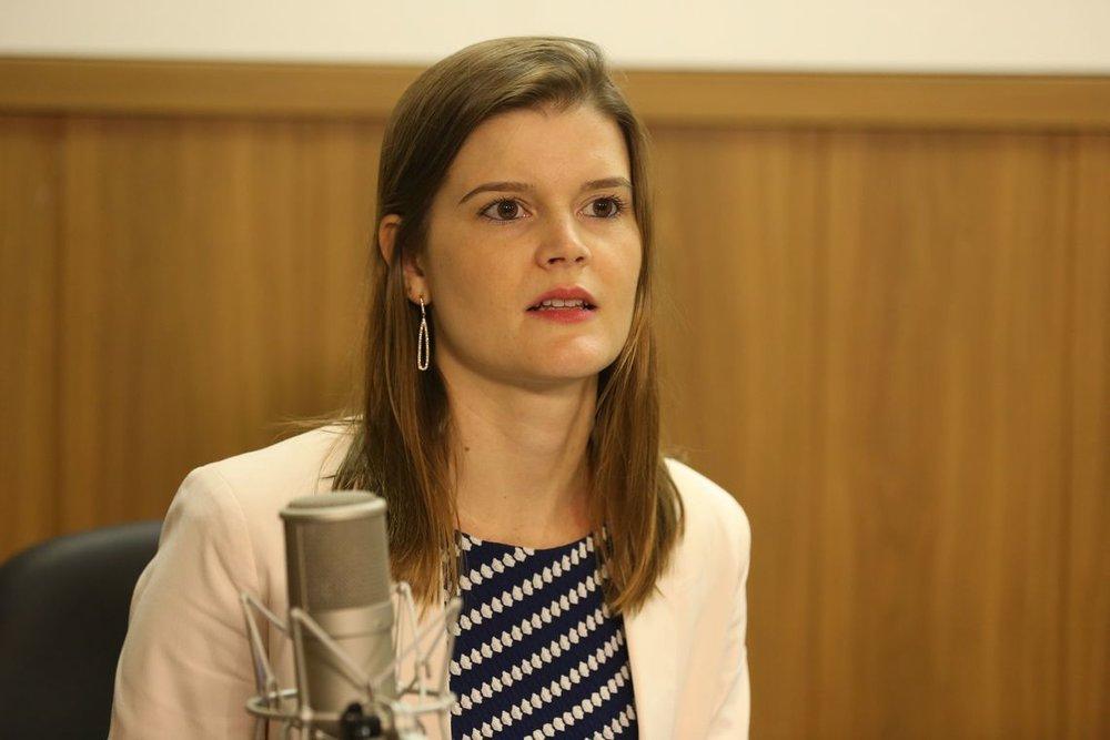 Martha Seillier é EPPGG da 13ª Turma. Foto: EBC
