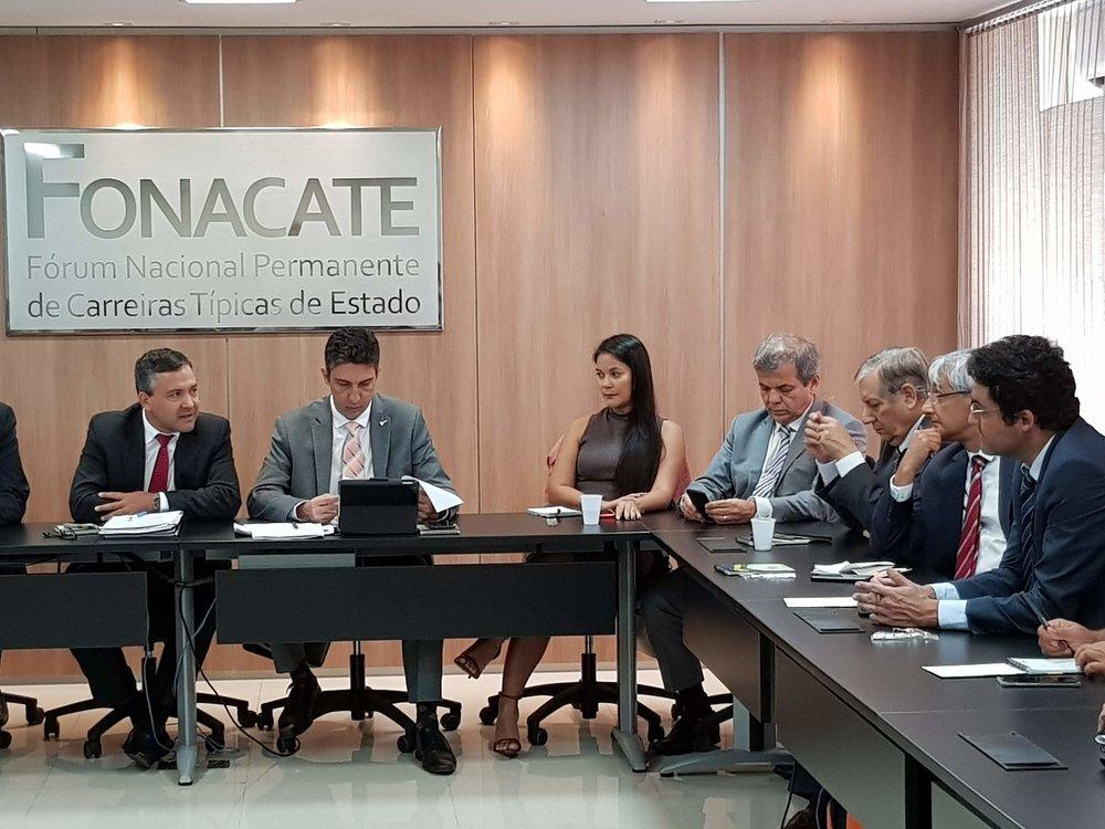 ANESP esteve presente na reunião de terça-feira do Fonacate