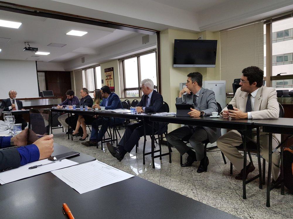 Reunião conjunta do Fonacate e Frentas na sede da Anamatra