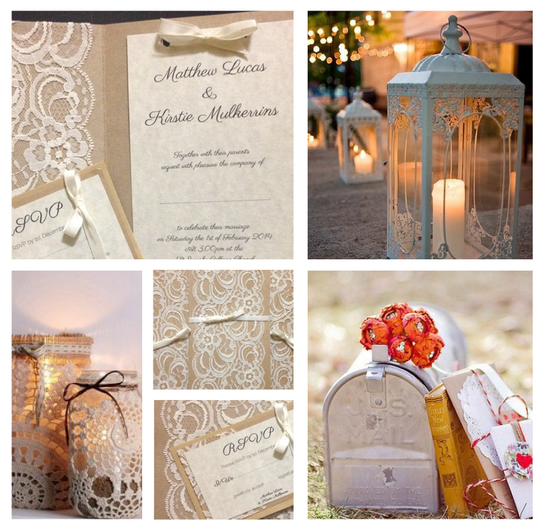 wedding / marriage / love / vintage / invitation / beautiful
