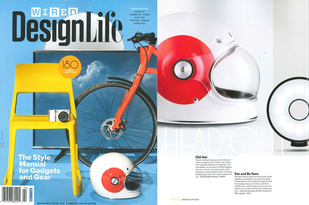 Wired Magazine Design Life 2014