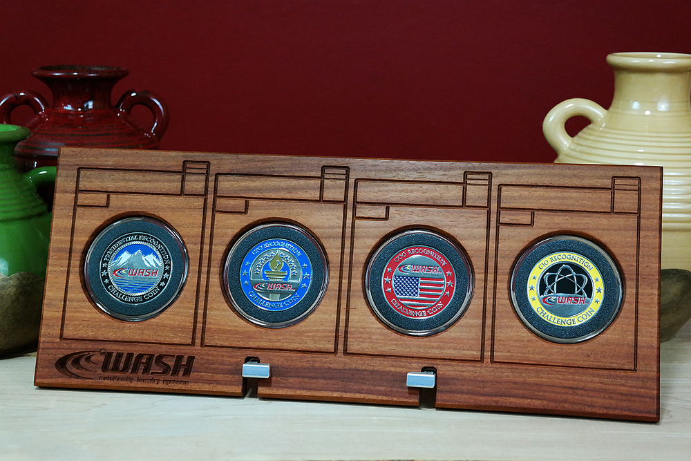 Tilt Coin Displays -