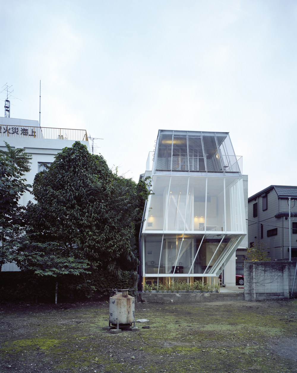 Small House in Tokyo by Sejima.