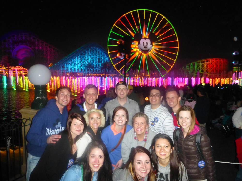 2013 - PR in LA - World of Color Group Picture.JPG