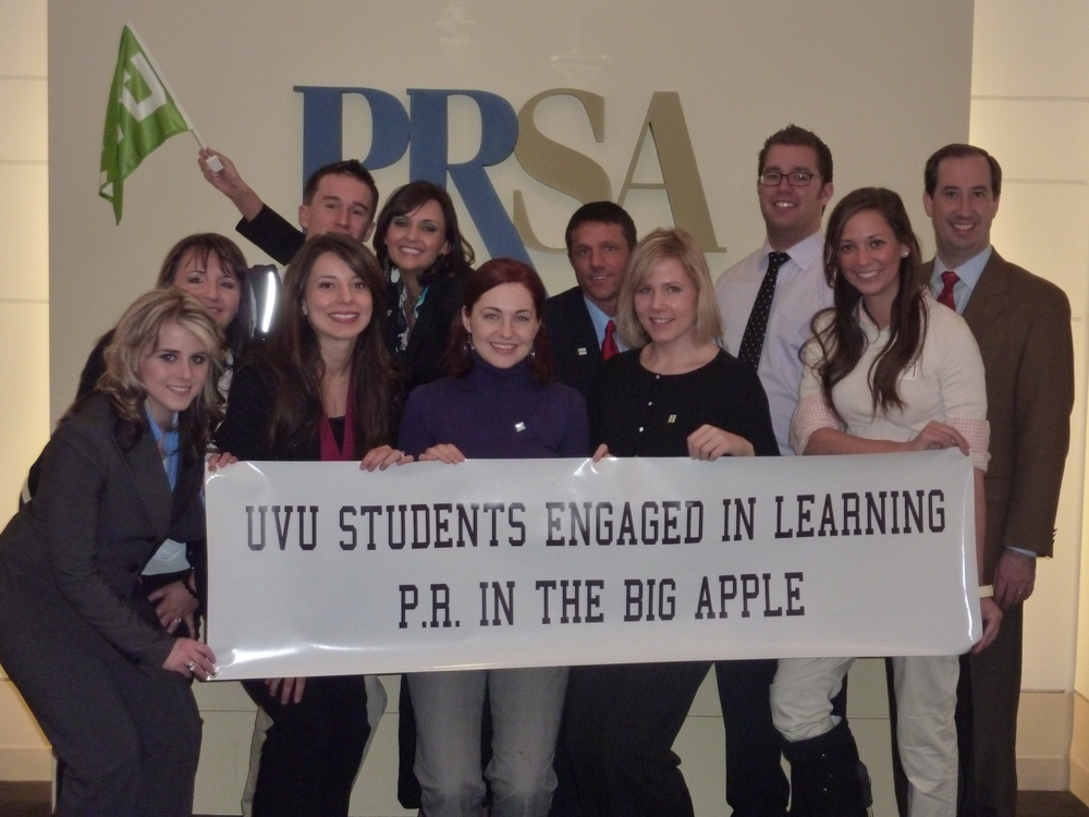 PR students in NYC at National PRSA Headquarters.JPG