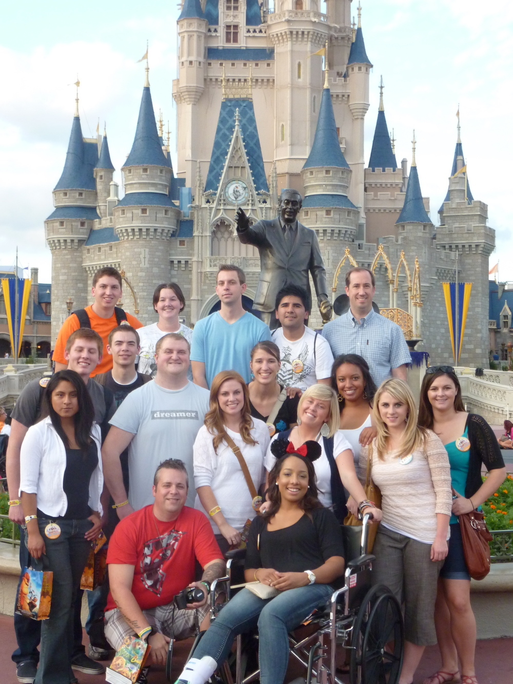 PR students in Orlando - Disney castle.jpg