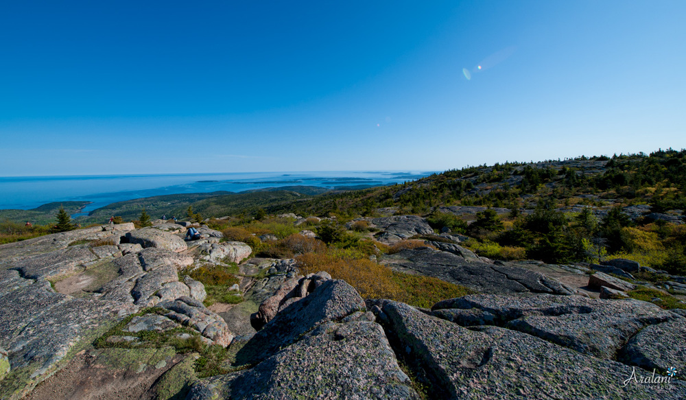 The Summit of Cadillac Mountain