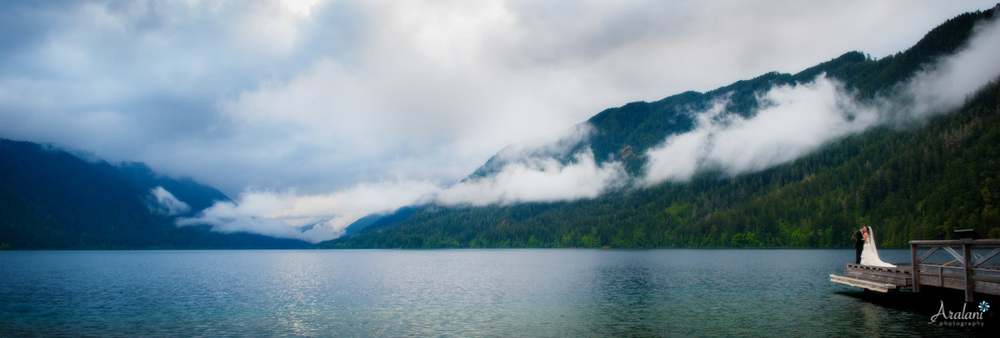 Lake Crescent Olympic Peninsula Elopement