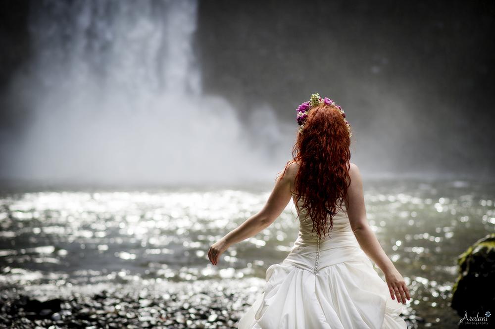 Waterfall Bride