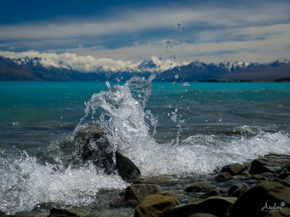 Lake Pukaki & Mt. Cook - New Zealand