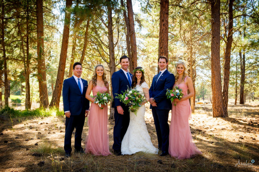 Aspen Lakes Golf Course Wedding