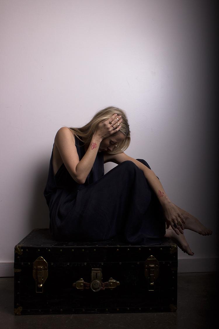 Photography Katy Shayne - Model Michelle Ziskind - Style Masha Poloskova - Jewelry Bandes Des Quatres - Clothing H Fredrikson