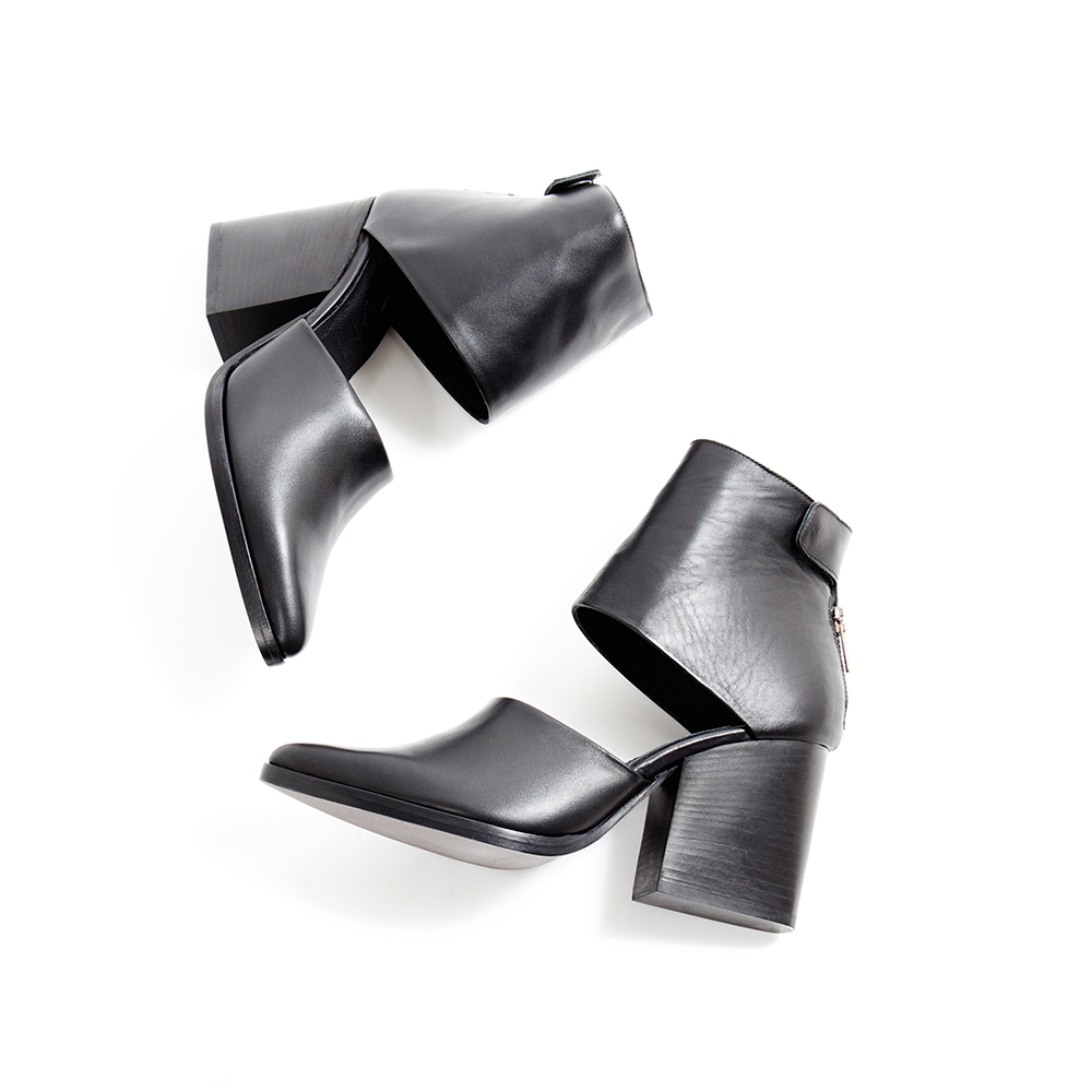 "LD Tuttle  ""The Light"" Boot in Black sz.37,38,39,40,41 - $640 (cutouts)           SOLD OUT!"