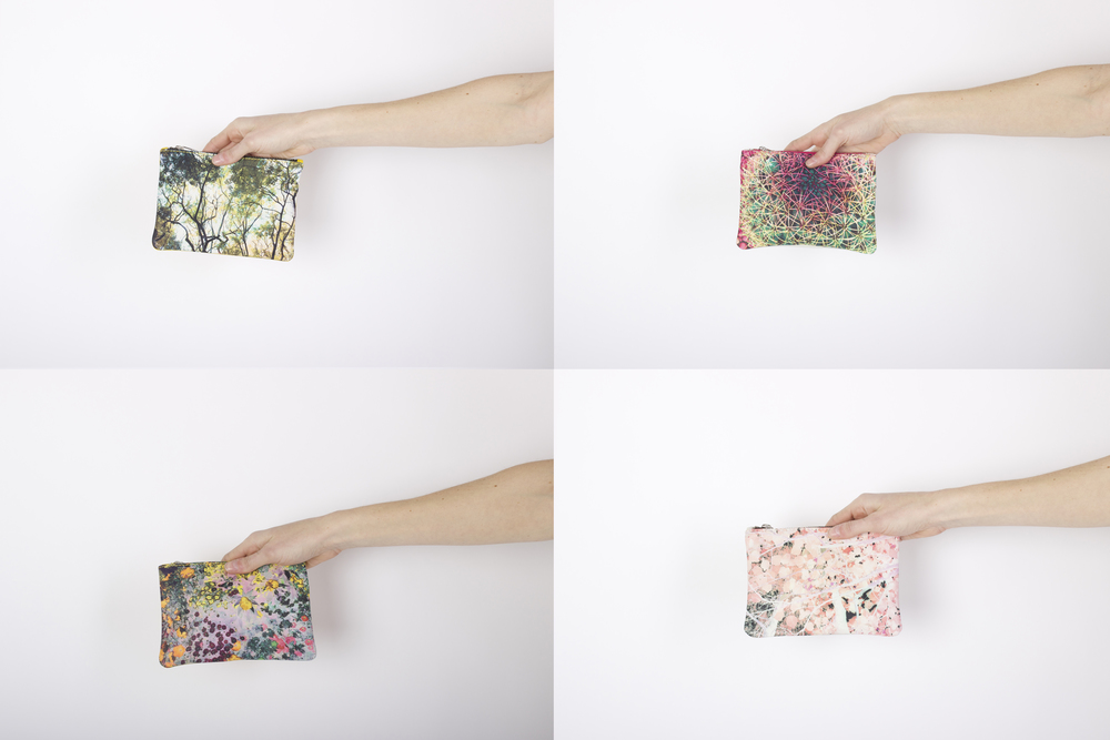 ZUBI Mini Paulina Leather Clutch - $125 Each