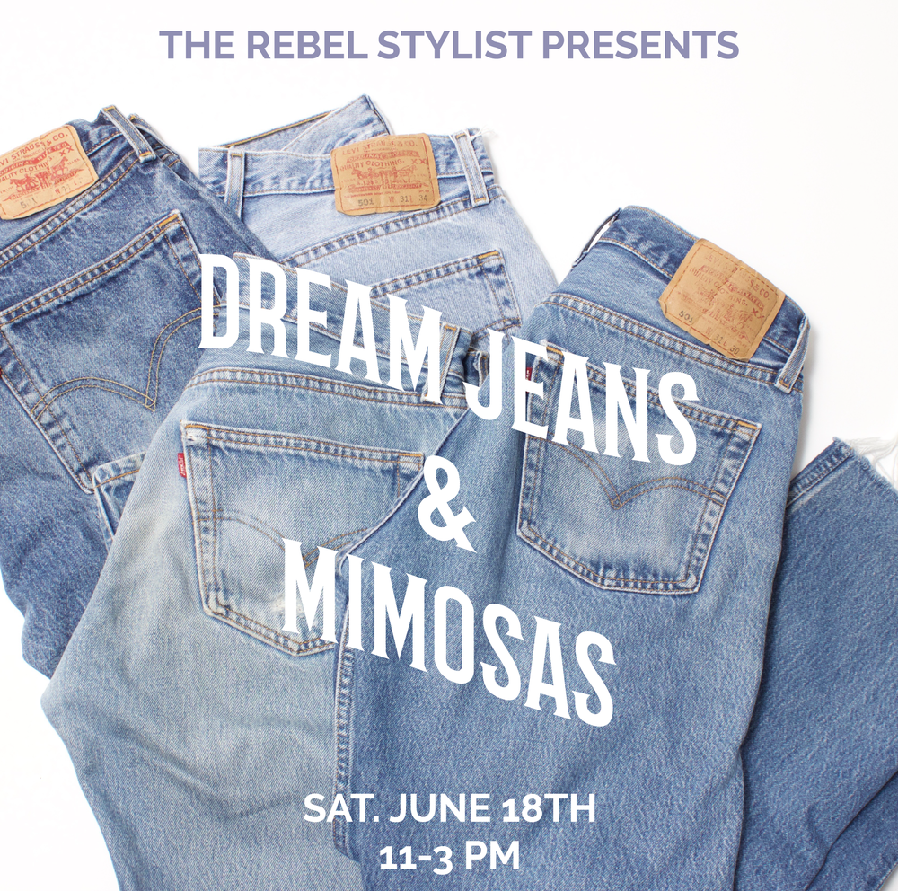 The Rebel Stylist Garment Vintage Levi's