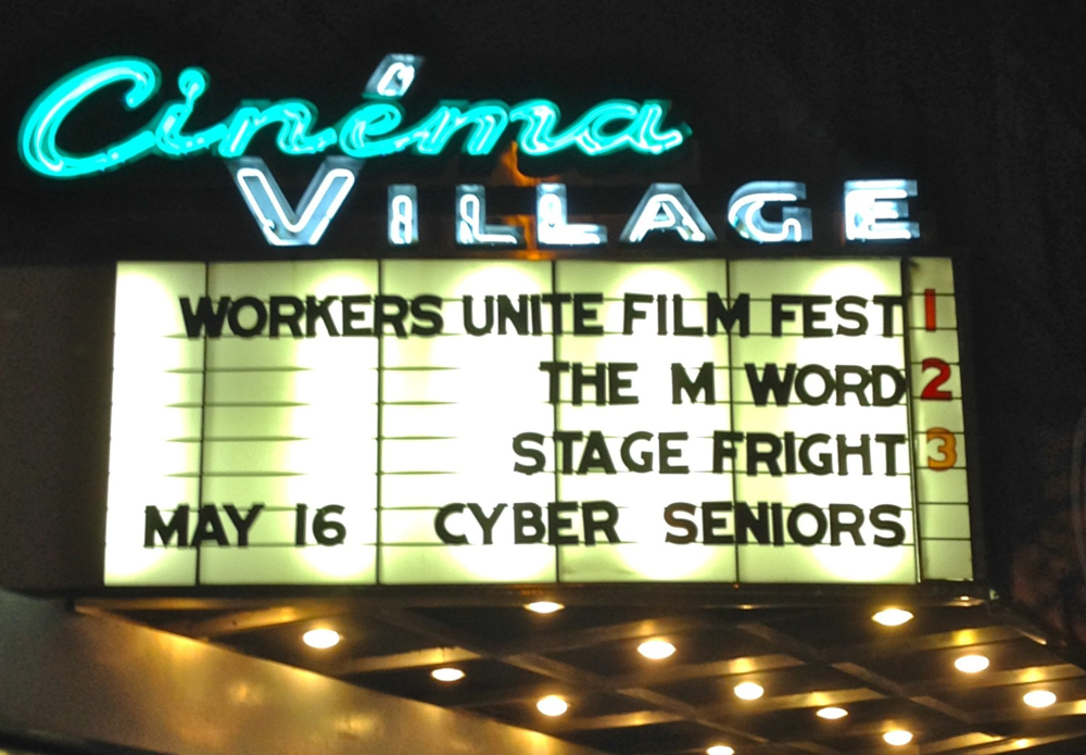 Workers Unite Film Festival Cinema Village