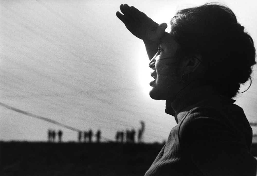 2 - Dolores Huerta at the Delano Strike in 1966. Photo by Jon Lewis, courtesy of LeRoy Chatfield-b.png