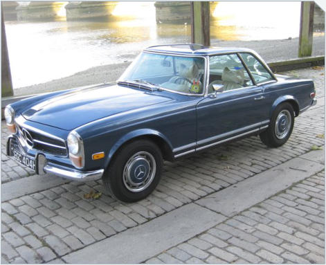 Mercedes-Benz 280SL - Left Hand Drive