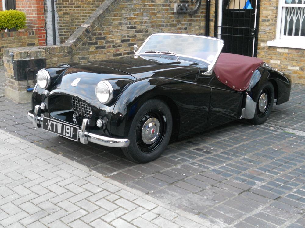 `1954 Triumph TR2