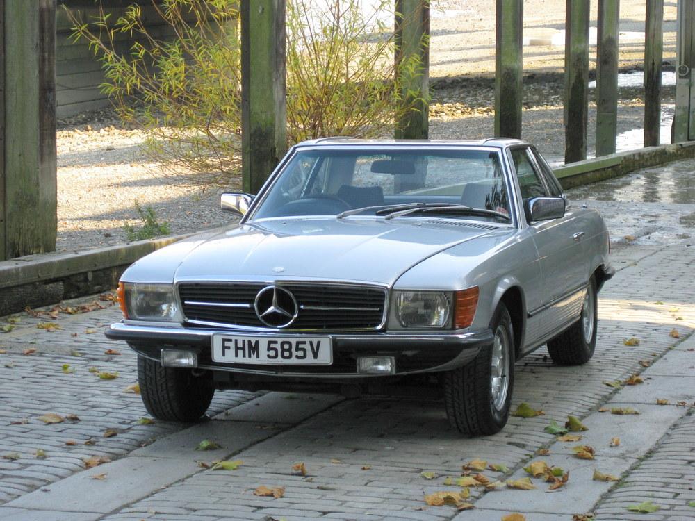 1978 Mercedes Benz 350SL
