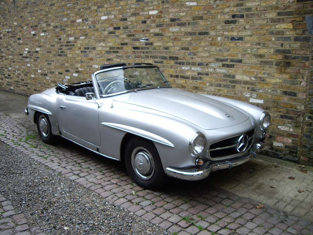 1962 Mercedes Benz 190SL