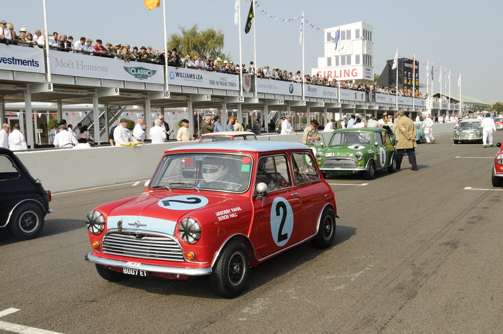 1964 Mini Cooper S at Goodwood Revival 2009