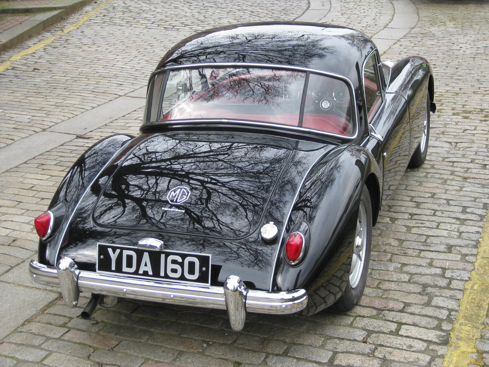 MGA Twin Cam Coupe
