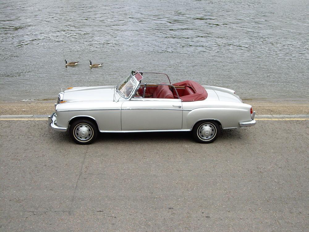 1960 Mercedes Benz 220S Ponton Cabriolet