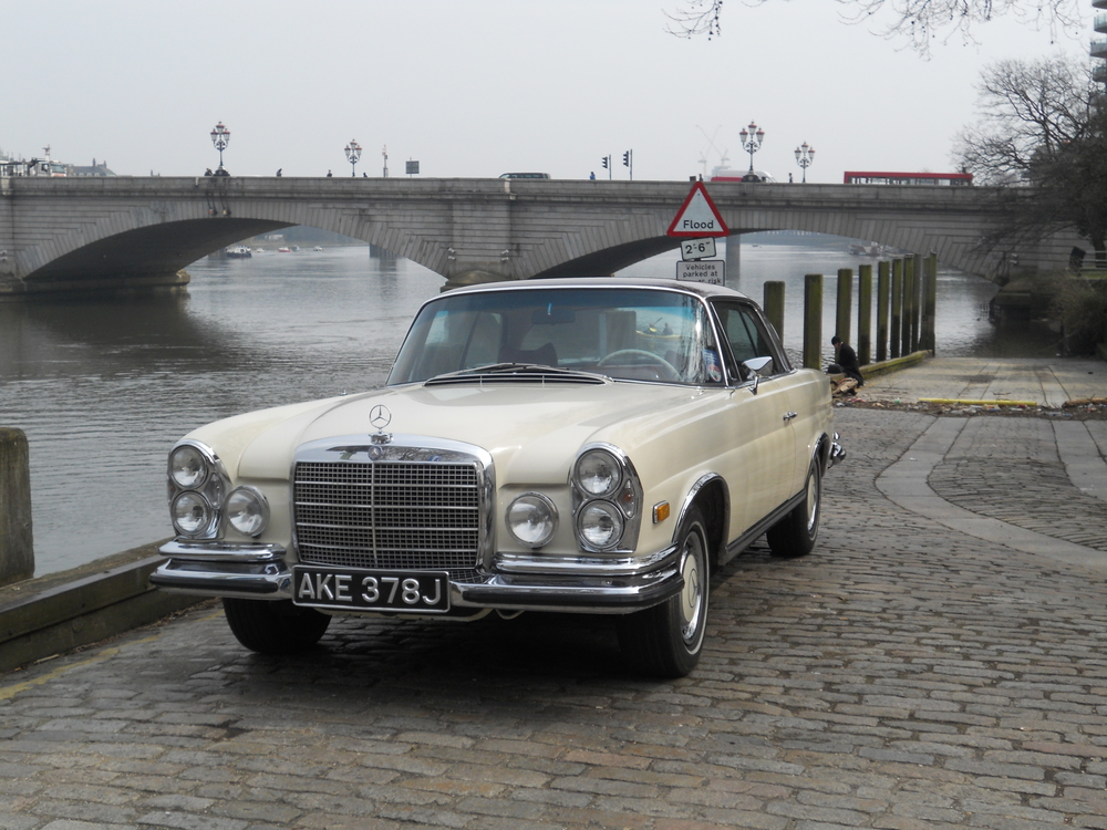 1971 Mercedes Benz 280SE 3.5 Coupe LHD