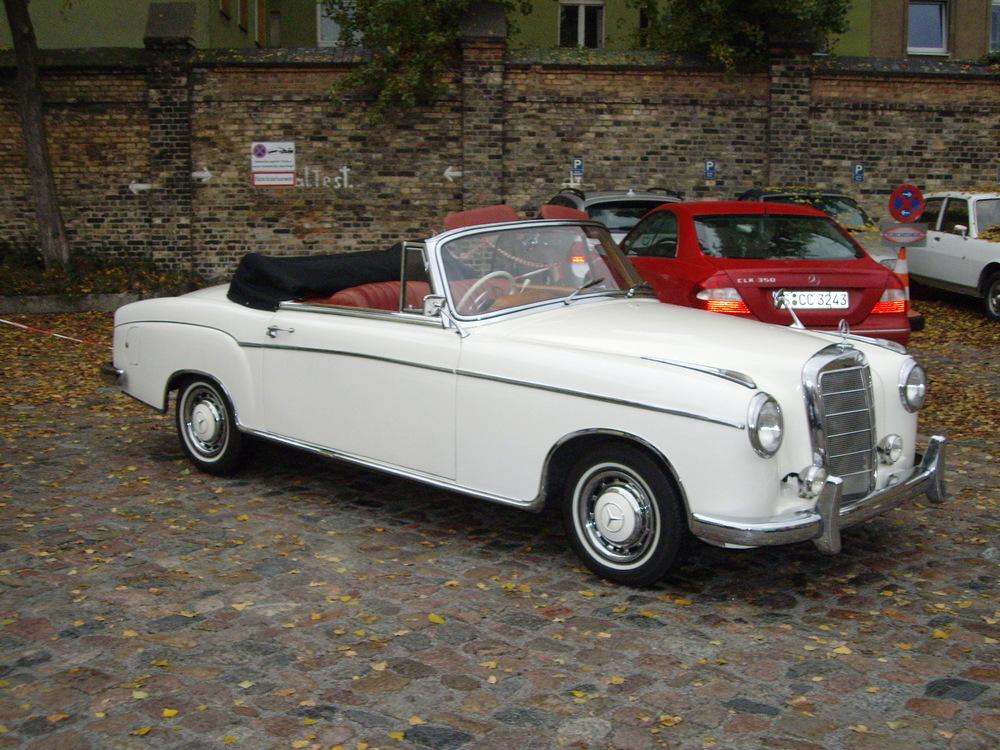1963 Mercedes Benz 220SE Ponton Cabriolet
