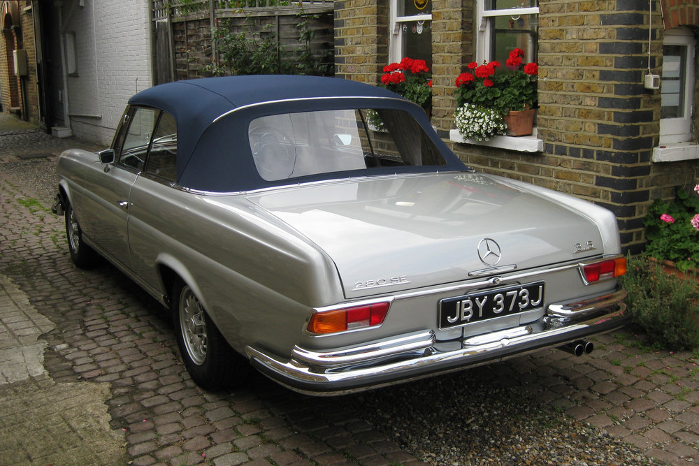 1971 Mercerdes Benz 280SE 3.5 Cabriolet