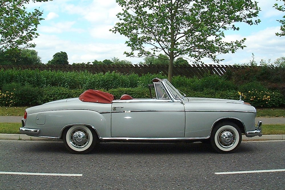 1961 Mercedes Benz 220S Ponton Cabriolet