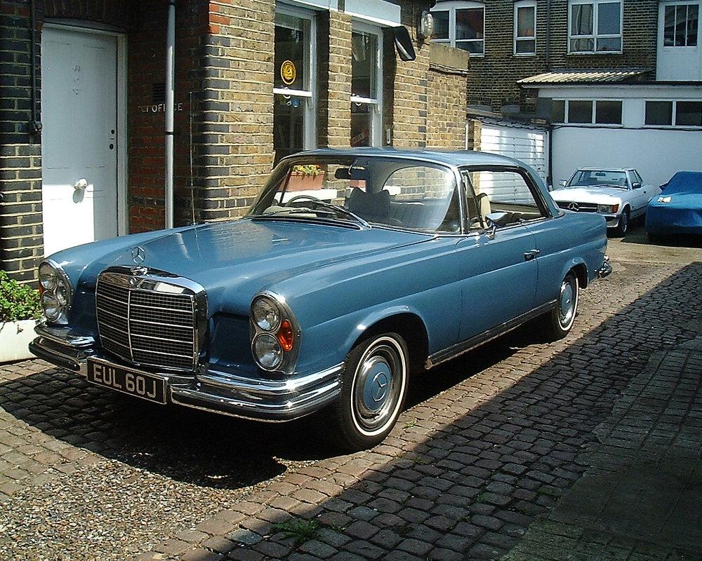 1968 Mercedes-Benz 280SE 3.5 Coupe Prototype